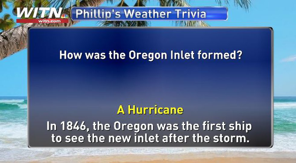 Phillip's Weather Trivia Answer July 14