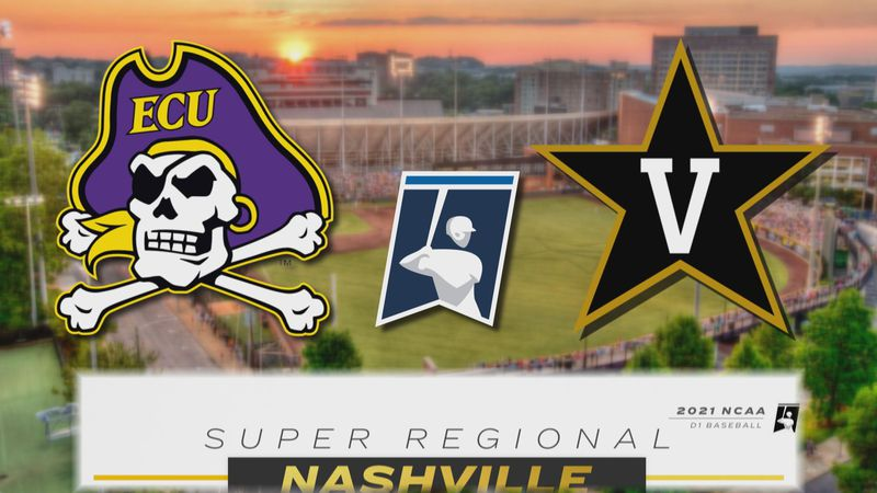 ECU at Vanderbilt - Super Regionals